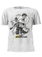 New Bruce Lee ART Trendy T Shirt Men Women Unisex London Tshirt Gift M339