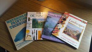 Joblot Bundle Artist Painting Books