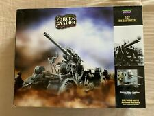 FORCES OF VALOR WWII German Military 88mm Flak Gun 1:32 DieCast Set #80034 NIB!!
