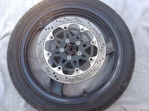 Kawasaki ZZR 250  front wheel,disc fits all