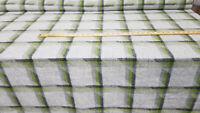 "Wool Fabric Tartan  Fabric wool fabric, 54"" wide, sold by 2.5 yard"