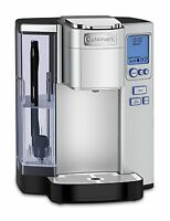 Cuisinart Premium Stainless Steel Single Serve Coffeemaker K-Cup Keurig Brewing