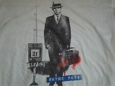 Rhyme Pays Urban Street Art Hip Hop T - Shirt Men's Size XL