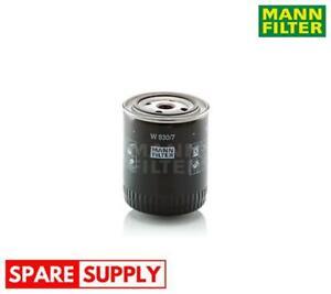 OIL FILTER FOR TOYOTA MANN-FILTER W 930/7