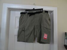 Men's Coleman Outdoor Hiking Nylon Cargo Shorts Quick Dry cell Phone Pocket XL