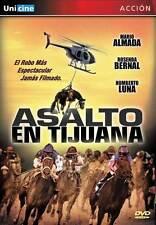 ASALTO EN TIJUANA Movie POSTER 27x40 Mario Almada Rosenda Bernal Paquito Cuevas