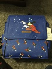 Petunia Pickle Bottom Fantasia Sorcerer Mickey Diaper Bag BoxLunch Exclusive Nwt