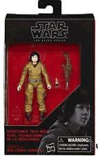 Star Wars Figura de Acción Resistance Tech Rose Black Series Hasbro
