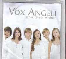 Vox Angel-Je Naurai Pas Le Temps Promo cd single