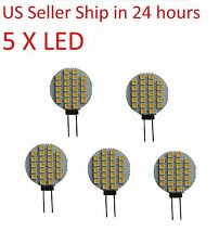 LED Light G4 24 SMD 12V-2W warm white 5 pieces for Marine Boat and Car RV Lamp