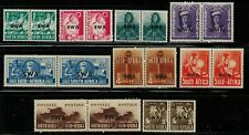 South West Africa #135-143 Complete Set 1941-43 MNH