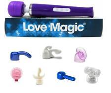 The Love Magic Wand™ Vibrator & Body Massager CORDLESS + 7 Attachments HITACHI