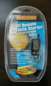 Bulldog Security 2-Way Remote Vehicle Starter Deluxe 500 New - Free Ship