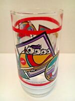 Coca Cola Polar Bear Winter Olympics 1995 Vintage Drinking Glass Coke