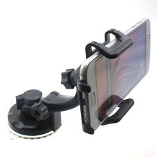 For Galaxy Note 10 8 9 Plus CAR MOUNT WINDSHIELD HOLDER GLASS CRADLE SWIVEL DOCK