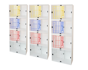 6 x 2 Bird Pigeon Widowhood Nest Boxes - Plywood   Special Design   Loft