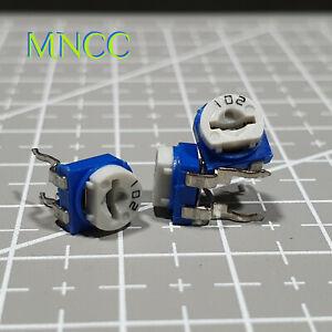 1~5pcs 102 1KΩ RM065 Trimpot Potentiometer Variable Single Turn Resistors 102