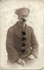 WW1 Officer RAMC Royal Army Medical Corps in British Warm Greatcoat