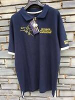 Equi-Theme Quality Hickstead Embroidered Navy Polo Shirt - Only XS left!