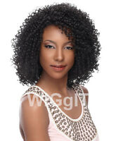 BEAUTIFUL SHANTEL | CURLY LACE FRONT WIG | SENSATIONNEL | BLACK/BROWN/HIGHLIGHTS