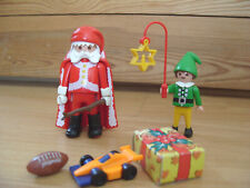 Playmobil 100% Complete Set 5846 Santa and Elf Duo Pack