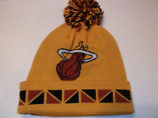 Miami Heat NBA Team Apparel Mitchell & Ness 2Face knit beanie