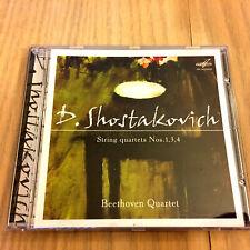 Dmitri Shostakovich – String Quartets Nos. 1, 3 & 4 (CD 2006)
