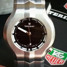 Tag Heuer 29mm Alter Ego WP1310 Ladies Stainless Steel Black Dial Box Papers Per