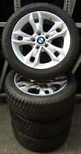 4 BMW Winterräder Styling 319 225/50 R17 98V M+S BMW X1 E84 6789142 TOP inkl RDK