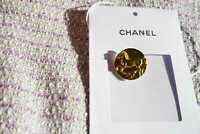 👍 Price for 1 Vintage 100%  Chanel buttons  metal cc logo 0,8 inch 20 mm