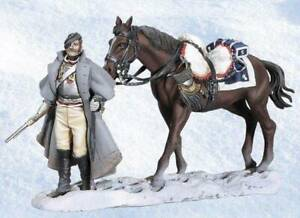 BH-1013 - Walking Cuirassier with Horse - Retreat from Moscow - Black Hawk