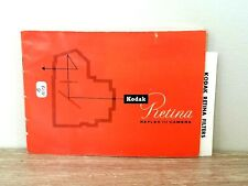 Rare! Kodak Retina Reflex Iii 3 camera operating owner manual instructions book