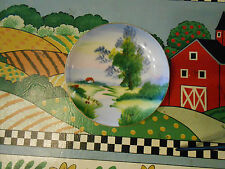 Ucagco China Hand Painted Plate Free Shipping