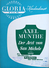 Axel Munthe Der Arzt von San Michele WR Gloria O.W. Fischer Sonja Ziemann
