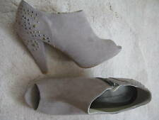Dorothy Perkins Beige Botas Zapatos De Infierno Alta (Nuevo) tamaño 8 - £ 45.00