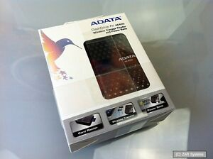 ADATA WLAN DashDrive AIR AE400 WiFi CardReader, 64GB SDXC Karte AAE400-CBKSV NEU