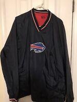 NFL Men's Buffalo Bills Reversible Windbreaker Size Large/XL