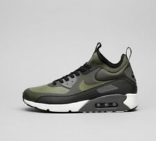 best loved 8cdd8 9fb88 NIKE AIR MAX 90 ULTRA MID WINTER - SEQUOIA   OLIVE - BLACK UK SIZE 9.5