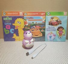 Leap Frog TAG Junior Reader, USB Cable and 3 Books Dora, Umizoomi, Sesame Street