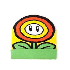 NINTENDO Super Mario Bros. Sunflower Cuffed Beanie One Size Multi-colour