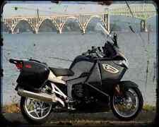 BMW K 1300 GT 10 1 A4 Metal Sign moto antigua añejada De