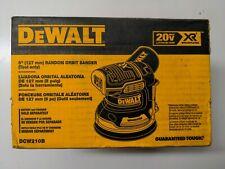 DEWALT DCW210B 20V 5in Cordless Body Only Orbital Sander