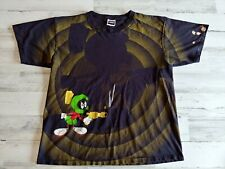 New ListingVtg 1992 Marvin The Martian All Over Print Looney Tunes T Shirt Size Xl Trashed
