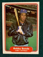1982 Fleer Baseball Card #588 Bobby Bonds Chicago Cubs