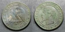 Napoléon III, 5 centimes 1854 A, TB