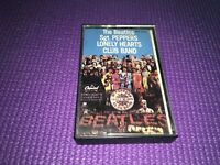 THE BEATLES SGT PEPPERS LONELY HEARTS CLUB BAND CASSETTE Tape—Preowned