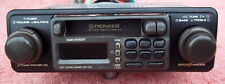 Pioneer KEH-2929 Old School Shaft Style AM/FM/Cassette Car Stereo Tested!