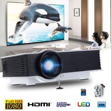 GIGXON G40+ HD 1080p Mini Projector Multimedia LED LCD Home Theater Cinema VGA