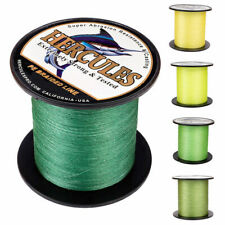 Hercules Weave PE Tackle 4 Strands Super Strength Braided Fishing Line 10-300lbs