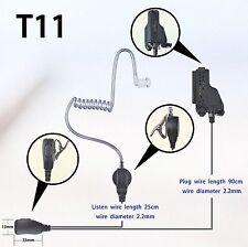 1-wire Surveillance Earpiece for Motorola HT1000 MTS2000 XTS1500 Portable Radio